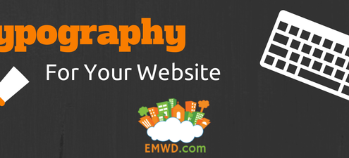 Typography for your website.
