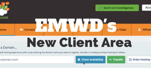 EMWD's New Clientarea