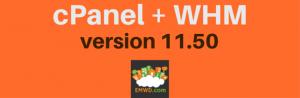 cPanel 11.50
